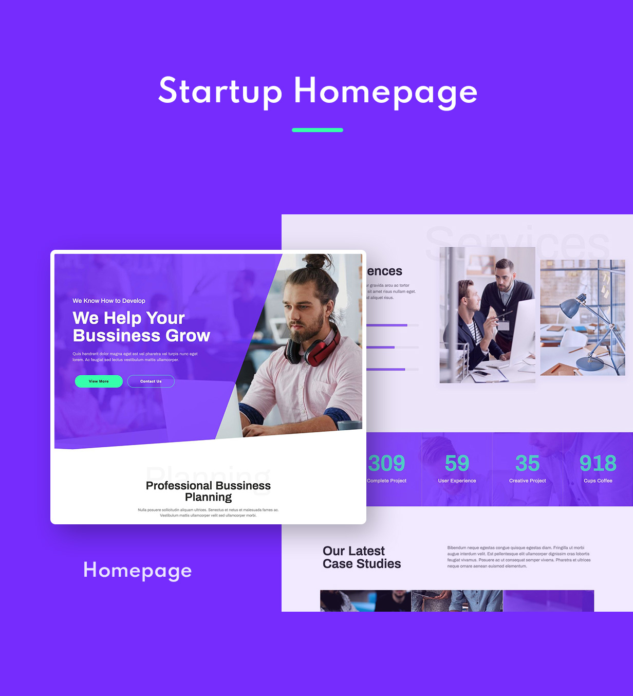 Startery | Business & Startup Elementor Template Kit - 1